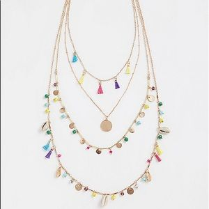 🆕 TORRID BOHO Multi Beaded Layer Necklace 🎁